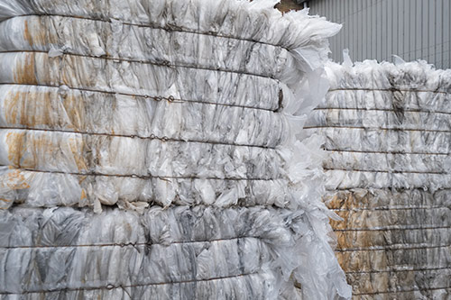 We Recycle Clear Polythene - Plumb Polymers