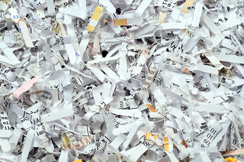 We Recycle Office Paper - Plumb Polymers