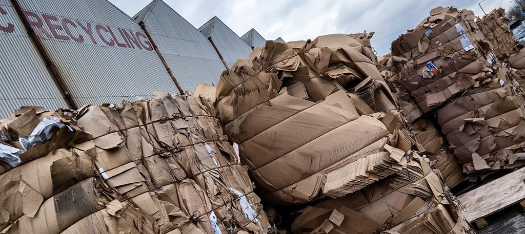 Cardboard Recycling Slide - Plumb Polymers